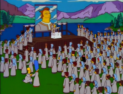 The Joy of Sect: The Simpsons, Scientology, Cults, Christianity, and Islam