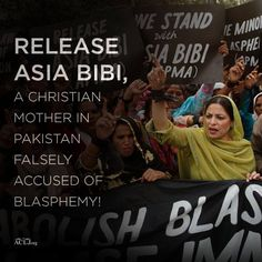 Plead Directly to the Supreme Court of Pakistan to Spare Asia Bibi's Life